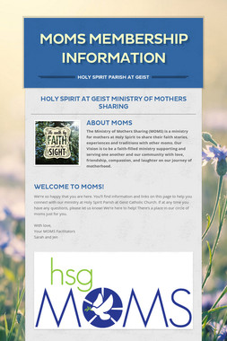 MOMS Membership Information