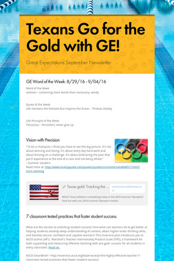 Texans Go for the Gold with GE!
