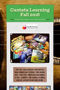Cantata Learning Fall 2016