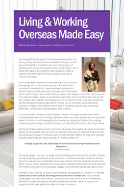 Living & Working Overseas Made Easy