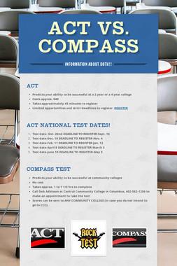 ACT vs. Compass