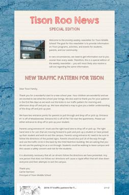 Tison Roo News