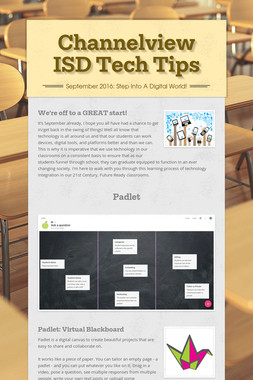 Channelview ISD Tech Tips