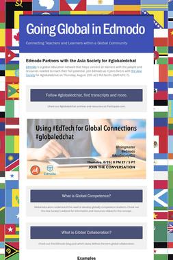 Going Global in Edmodo