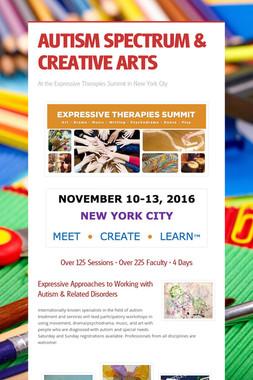 AUTISM SPECTRUM & CREATIVE ARTS
