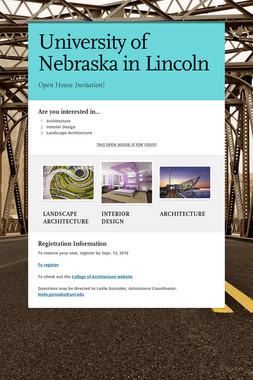 University of Nebraska in Lincoln