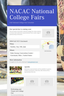 NACAC National College Fairs