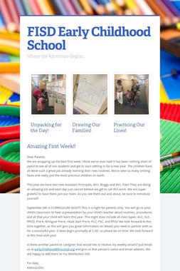 FISD Early Childhood School