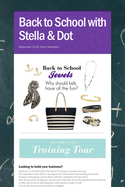 Back to School with Stella & Dot