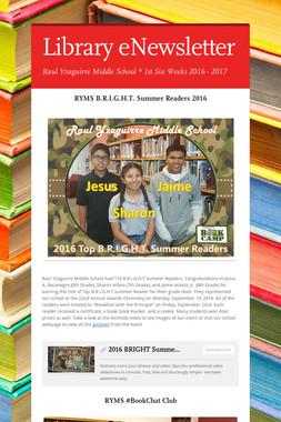 Library eNewsletter