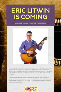 Eric Litwin Is Coming