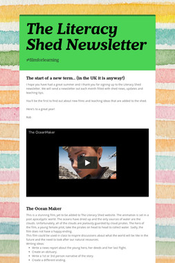 The Literacy Shed Newsletter