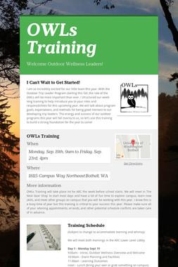 OWLs Training