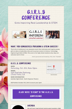 G.I.R.L.S Conference