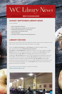 WC Library News
