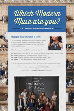 Which Modern Muse are you?