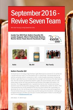 September 2016 - Revive Seven Team