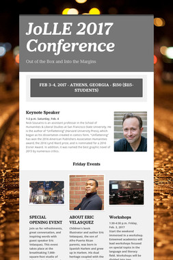 JoLLE 2017 Conference