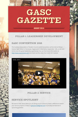 GASC Gazette