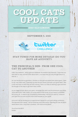 Cool Cats Update