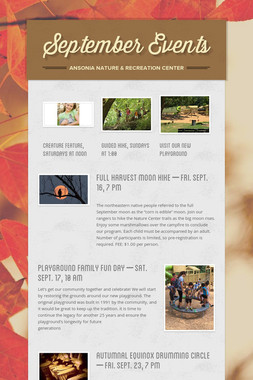 September Events