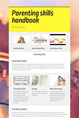 Parenting skills handbook