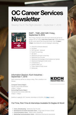 OC Career Services Newsletter