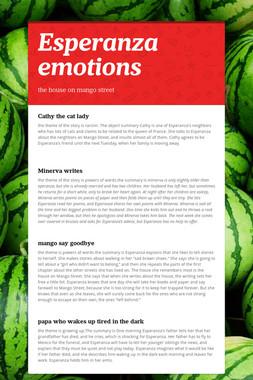 Esperanza emotions