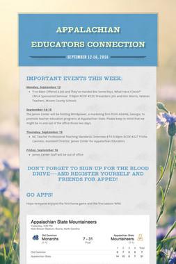 Appalachian Educators Connection
