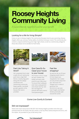 Roosey Heights Community Living