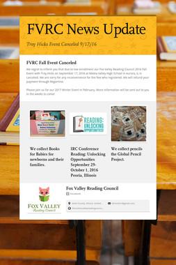 FVRC News Update