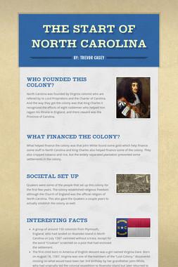 The Start of North Carolina