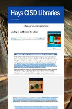 Hays CISD Libraries