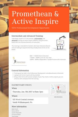 Promethean & Active Inspire
