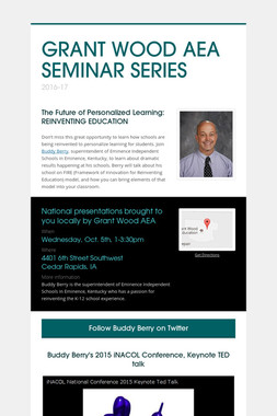 GRANT WOOD AEA SEMINAR SERIES