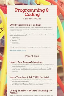 Programming & Coding
