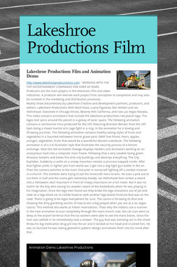 Lakeshroe Productions Film
