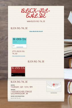 BLiCK-iNS-TAL.DE