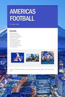AMERICAS FOOTBALL