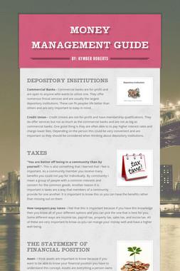 Money Management Guide