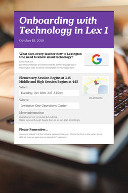 Onboarding with Technology in Lex 1