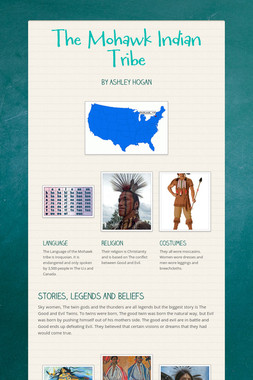 The Mohawk Indian Tribe