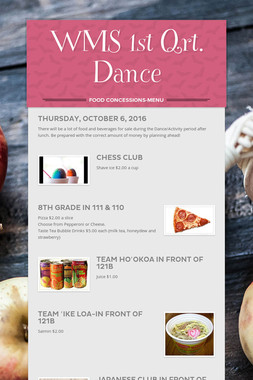 WMS 1st Qrt. Dance