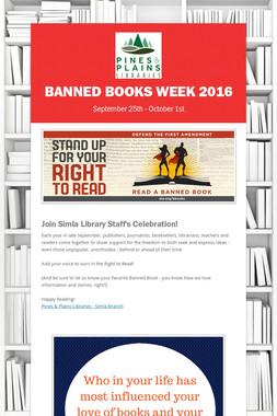 Banned Books Week 2016