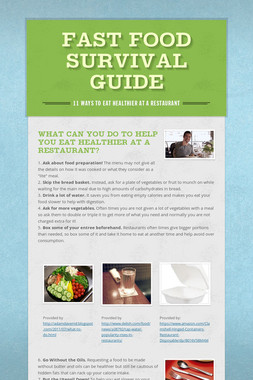Fast Food Survival Guide