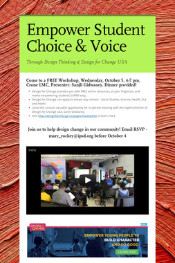 Empower Student Choice & Voice