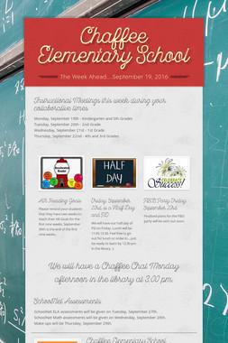Chaffee Elementary School