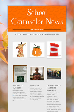 School Counselor News
