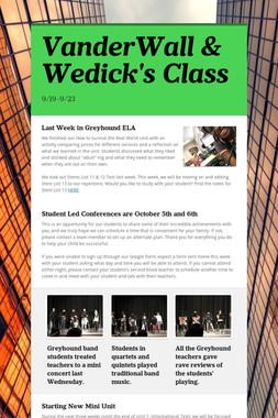 VanderWall & Wedick's Class