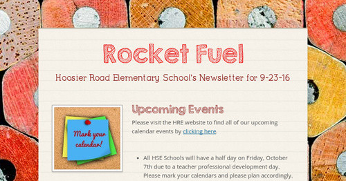 Rocket Fuel Smore Newsletters For Education